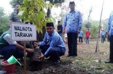 Wakil Walikota Tarakan Pimpin Peringatan Hari Bakti Rimbawan