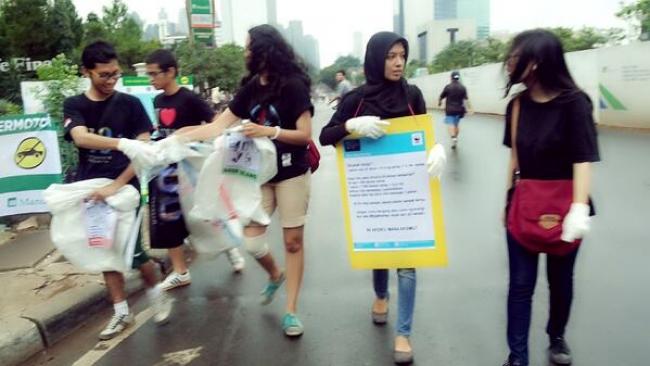 Aksi Nyata EH Indonesia Perangi Sampah Kertas