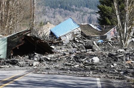 Banjir & Longsor Landa Desa Oso, Amerika Serikat