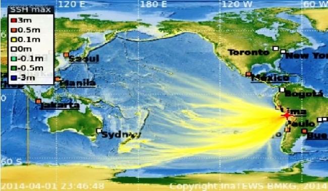 BMKG : Peringatan Dini Tsunami untuk Wilayah Indonesia Dinyatakan Berakhir