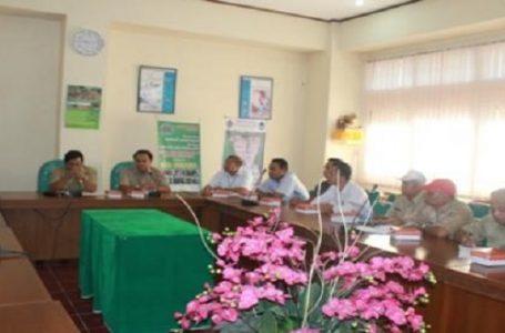 Rapat persiapan uji emisi di kota Denpasar Tahun 2014