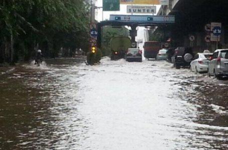 Beberapa Jam Diguyur Hujan, Jakarta Tergenang dan Pohon Bertumbangan