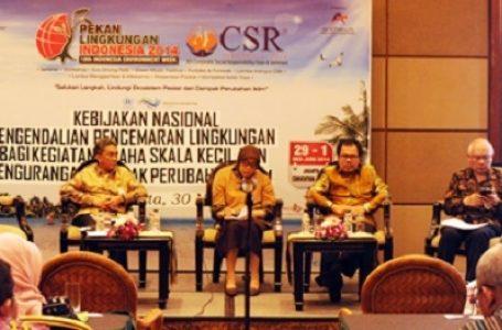 Seminar Kebijakan KLH Singgung Pelaku Usaha Untuk Ramah Lingkungan