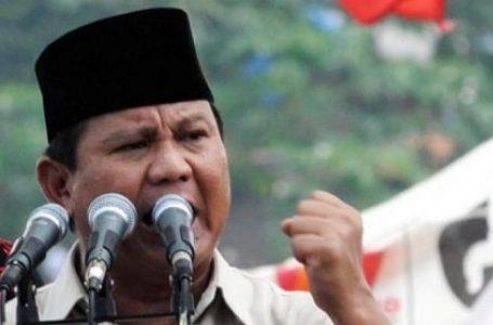 Prabowo Berkicau Mengenai Hutan yang Rusak Seluas 6 Lapangan Bola per Menit