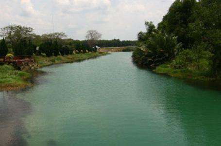 Pencemaran Air Sungai Kesang Diduga Kiriman Limbah dari Indonesia