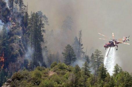 Siaga Kebakaran Lahan, Sumsel Gunakan Heli Mi-8
