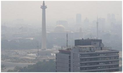Gas Buang vs Tanaman Hijau