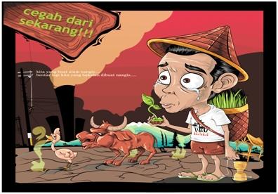 Dampak Pemanasan Global di Indonesia