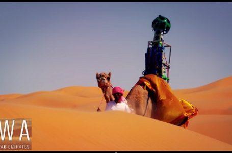 Google Street View , Tur-Virtual Bentang Alam Gurun Arabian