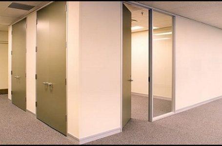 Contoh penggunaan material gipsum pada partisi bangunan (Gambar: plafonpartisi)