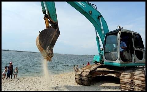 Petisi Walhi: Tolak Izin Penambangan Pasir