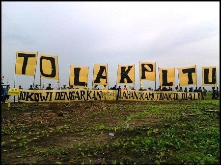 Jokowi Batalkan Kunjungan, Ratusan Warga Batang Kecewa