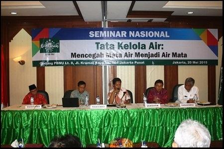 Seminar Nasional Tata Kelola Air: Mencegah Mata Air Menjadi Air Mata