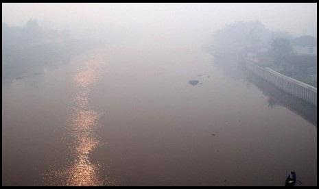 Riau Berkabut, Singapura dan Malaysia Berpotensi Terkena Imbas