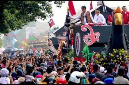 Jokowi Tunjuk Pontianak Sebagai Lokasi Festival Karnaval Khatulistiwa 2015