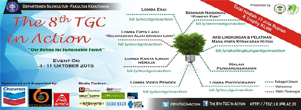 "TGC IPB Selenggarakan ""The 8th TGC in Action"""