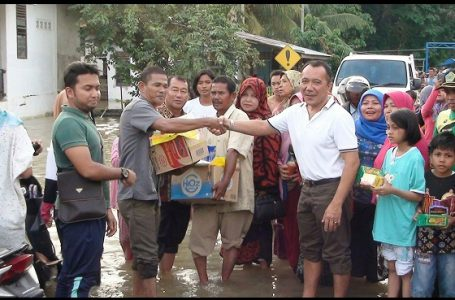 LPBI NU Bantu Korban Banjir dan Longsor di Sumbar dan Riau