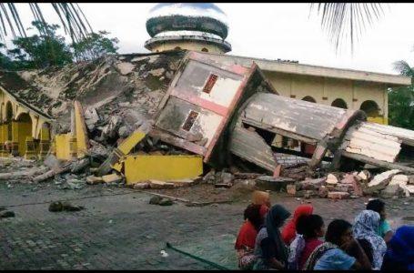 Kondisi saat Gempa di Pidie Jaya, Aceh (Gambar: Liputan 6)
