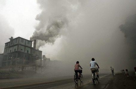 Polusi Dari Pabrik Di Yutian, 100 km Beijing Timur (Gambar: Istimewa)
