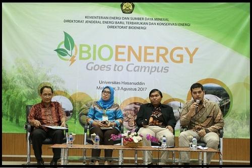 Kampanyekan Bioenergi, KESDM Gelar Seminar di Kampus UNHAS