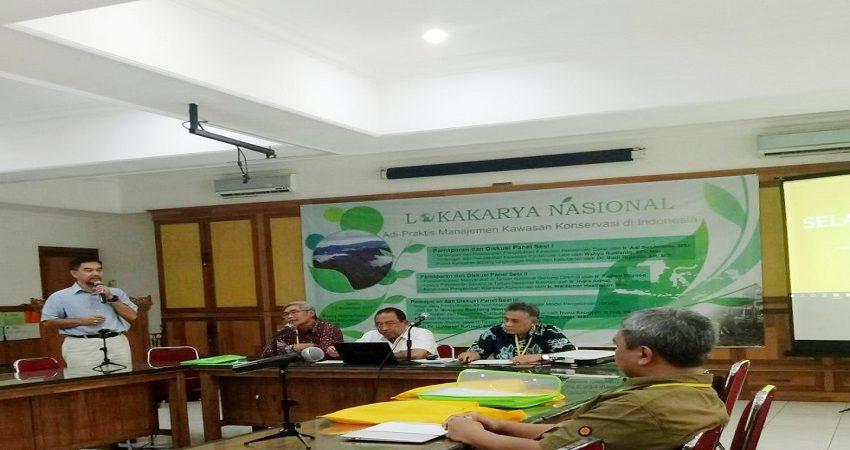 Manajemen Kawasan Konservasi Fahutan IPB Gelar Lokakarya Nasional