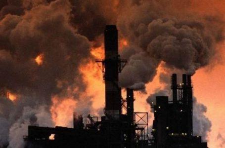 Ilustrasi Gas Pembuangan Pabrik. (Gambar: Rinagu.com)