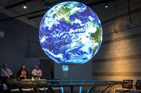 SFCC membuat teknologi baru pertama di New Mexico yang menunjukkan pola cuaca di  Bumi. (Gambar: abqjournal.com)