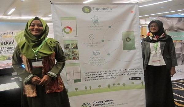 Taponesia Tawarkan Bisnis Berbasis Lingkungan di YSE 2017