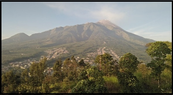 Status Waspada, Taman Nasional Gunung Merapi Ditutup