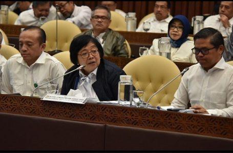 Suasana Ruang Rapat Kerja KLHK di Senayan (Sumber : Facebook KLHK)