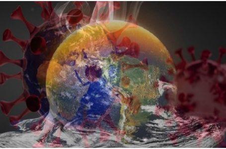 Ilustrasi Hubungan Pandemi COVID-19 terhadap Perubahan Iklim. (Gambar: Istimewa)
